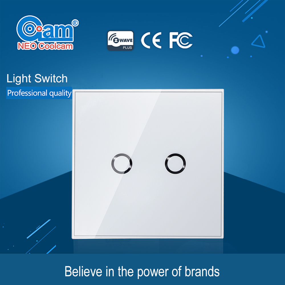 EU Standard Items Z wave Wireless Smart Wall Light Switch Wireless ...