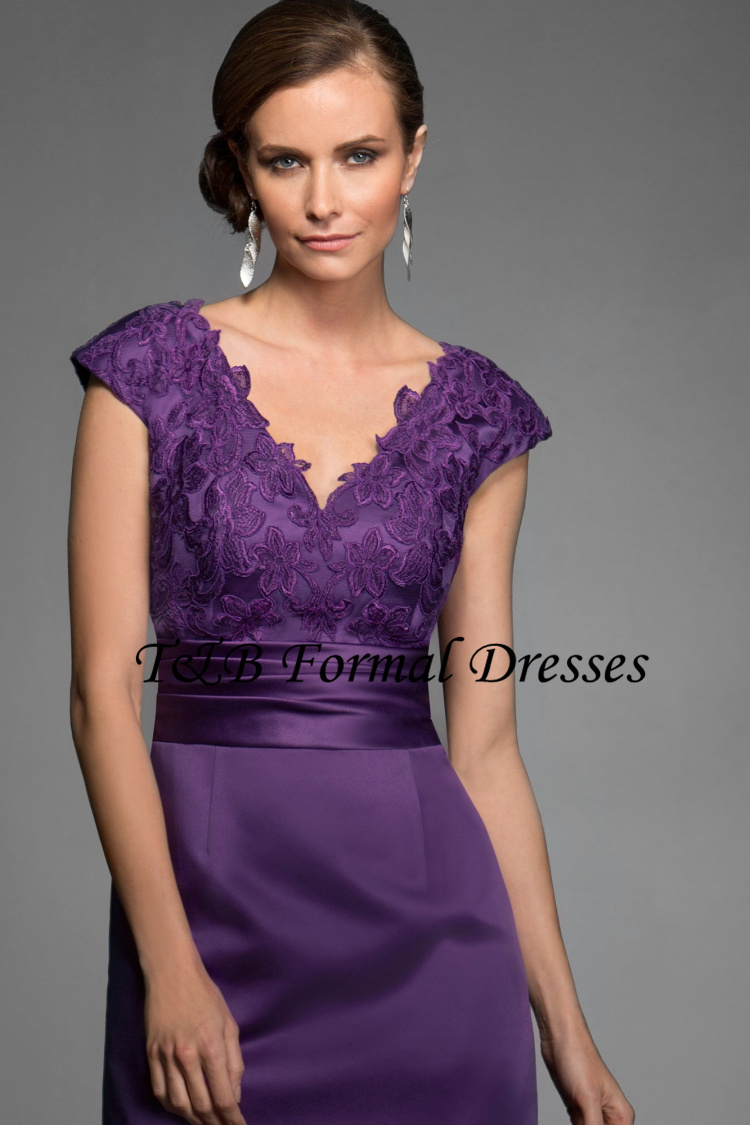 Robes soiree dentelle satin