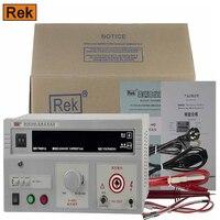 РЭК RK2670AM Измеритель Высокого Напряжения Тестер выдерживаемого напряжения переменного тока Напряжение 5KV метр тестер (220 В переменного тока)