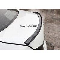 Car Tail Decorative Stickers Rear Trunk Spoiler Lip Tail Trunk Wing Trim Exterior Accessories For SEAT LEON ARONA ATECA IBIZA FR