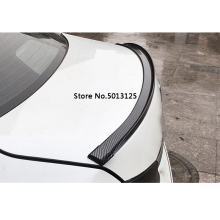 Tail Decorative Stickers Rear Trunk Spoiler Lip Wing Trim For Mercedes Benz W176 W117 W212 W204 C63 CLA GLA A 45 AMG