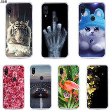For Xiaomi Redmi Note 7 6 5 4 4X 4A Case Silicone Painting Soft TPU For xiaomi redmi note 7 Case Fundas Coque redmi plus go(China)
