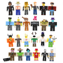 24/50 Pcs Roblox Game Figure Action Toys Roblox Figura PVC Toy Random Sent Roblox Game Christmas Gift Toy For Kids