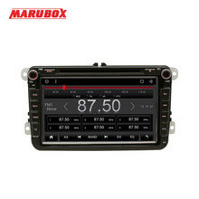 MARUBOX 2Din Android 8 For Volkswagen Passat B6 POLO GOLF 5 Skoda Octavia GPS Navi DVD Stereo Radio Car Multimedia Player(China)
