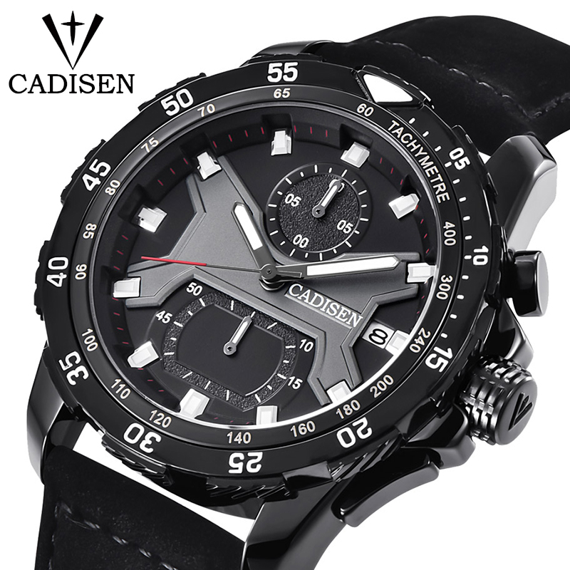 Cadisen men watch Top Brand Luxury Mens Business Watch Fashion Sports watches Luminous Waterproof Wristwatch relogio masculinoCadisen men watch Top Brand Luxury Mens Business Watch Fashion Sports watches Luminous Waterproof Wristwatch relogio masculino