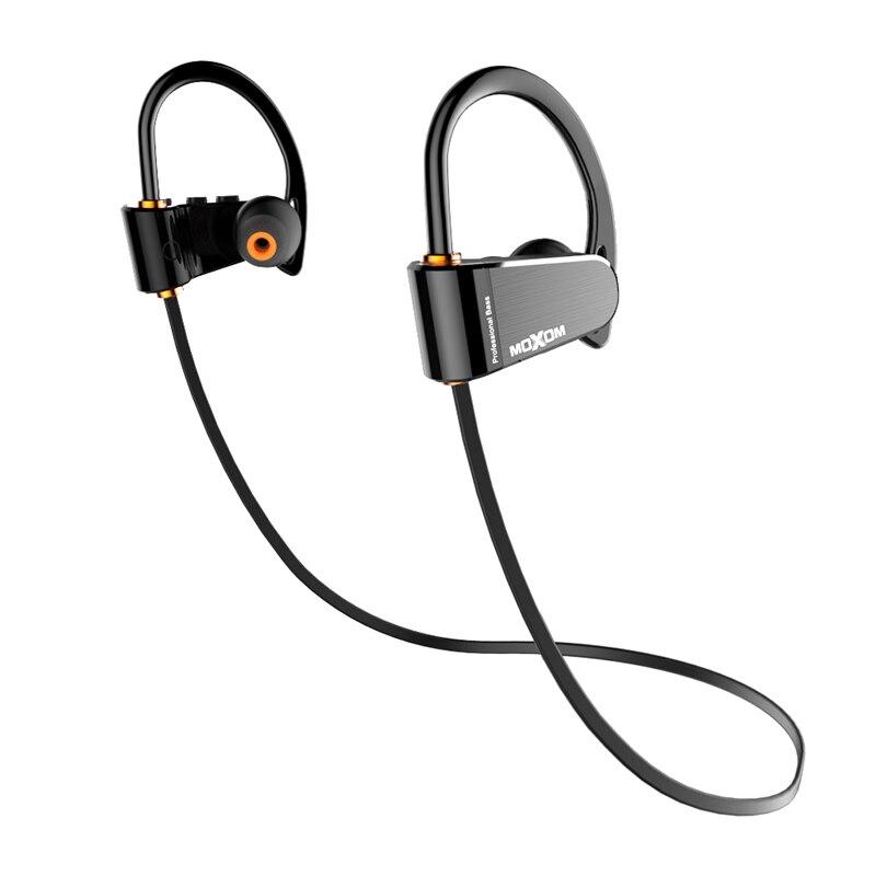 MOXOM auriculares inalámbricos IPX7 impermeable auriculares Bluetooth deportes Bass auriculares con micrófono para iPhone xiaomi Samsung Huawei HTC
