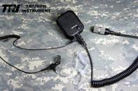 Oferta Altavoz de comunicaciones original triple modificado con auricular para TRI PRC-152 TRI PRC-148