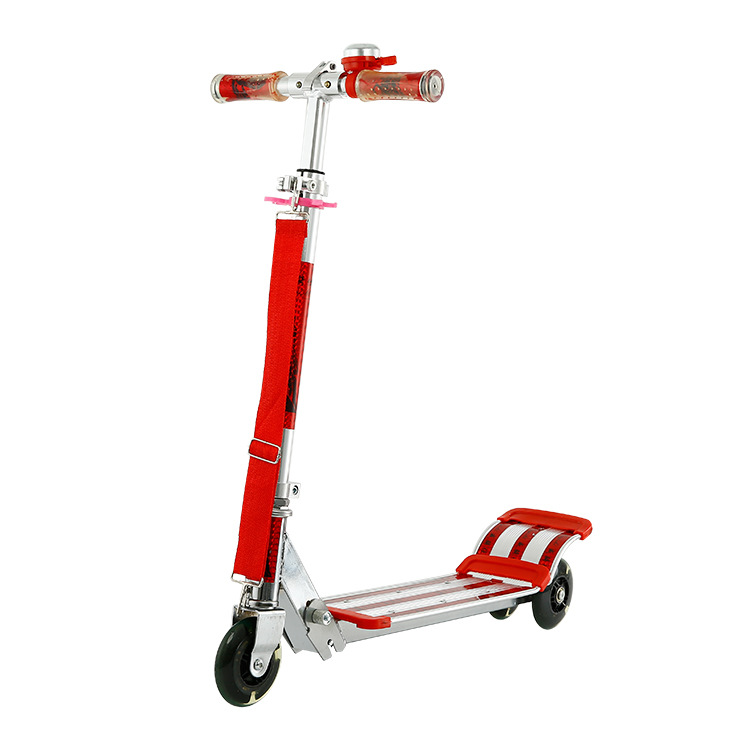 LK711 Thickened Aluminum Alloy Foldable Foot Scooter 3 PVC Flashing Wheel Kick Scooter Height Adjustable Scooter 60kg BearingLK711 Thickened Aluminum Alloy Foldable Foot Scooter 3 PVC Flashing Wheel Kick Scooter Height Adjustable Scooter 60kg Bearing