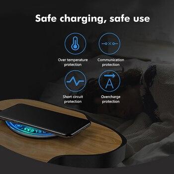 Беспроводное зарядное устройство Magic Circle, универсальная беспроводная Быстрая Зарядка Qi для iPhone X XS XR 7 8 для Samsung, беспроводная Прямая зарядка ...