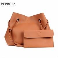 REPRCLA Brand Designer Handbags Women Composite Bag Large Capacity Shoulder Bags Casual Ladies Tote High Quality