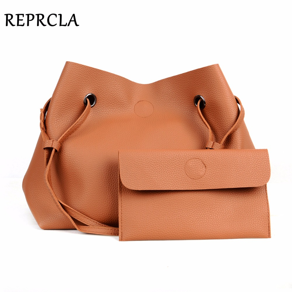 REPRCLA Brand Designer Handbags Women Composite Bag Large Capacity Shoulder Bags Casual Ladies Tote High Quality PU Leather floral pattern women handbags lash package shoulder bags three piece suit composite large tote bag for ladies