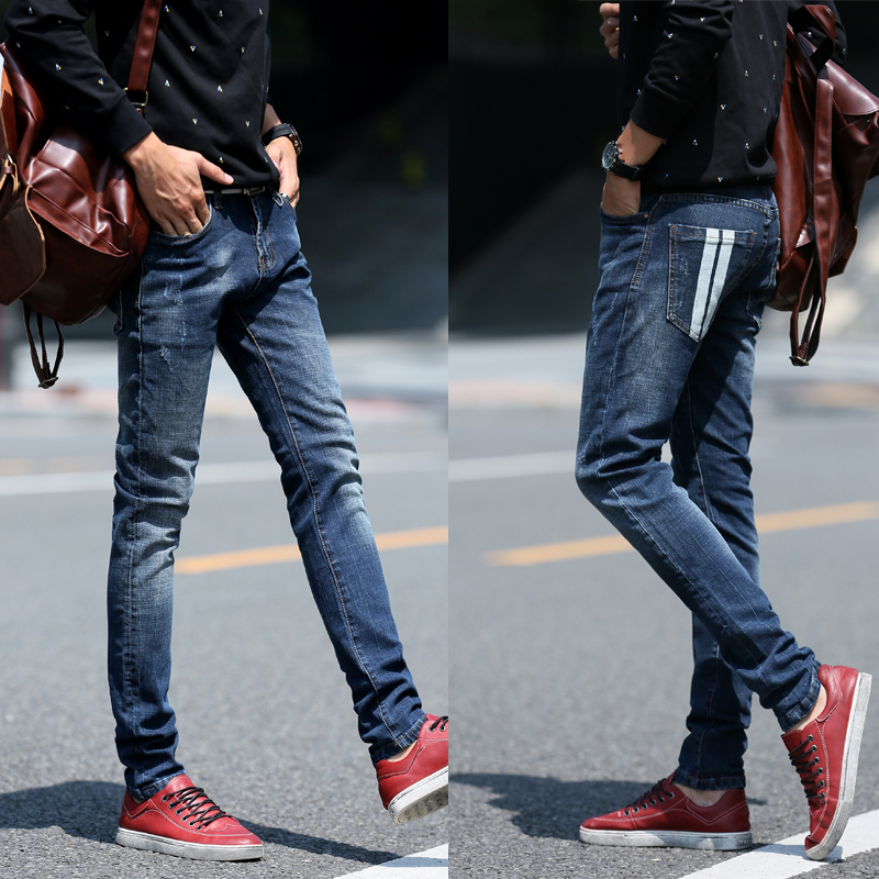 Aliexpress.com : Buy European and American style men jeans slim ...