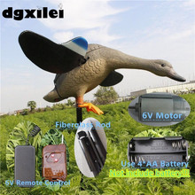 Italy Hunting Wholesale 6V Plastic Female Duck Hunting Duck Decoy Spinning Wings From Xilei