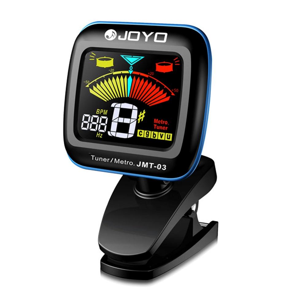 buy joyo jmt 03 portable guitar tuner metronome digital tuner clip mic for. Black Bedroom Furniture Sets. Home Design Ideas