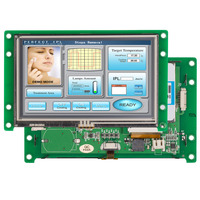 4.3 Industry Type TFT LCD Monitor With Touch Panel For Electronic Instrument