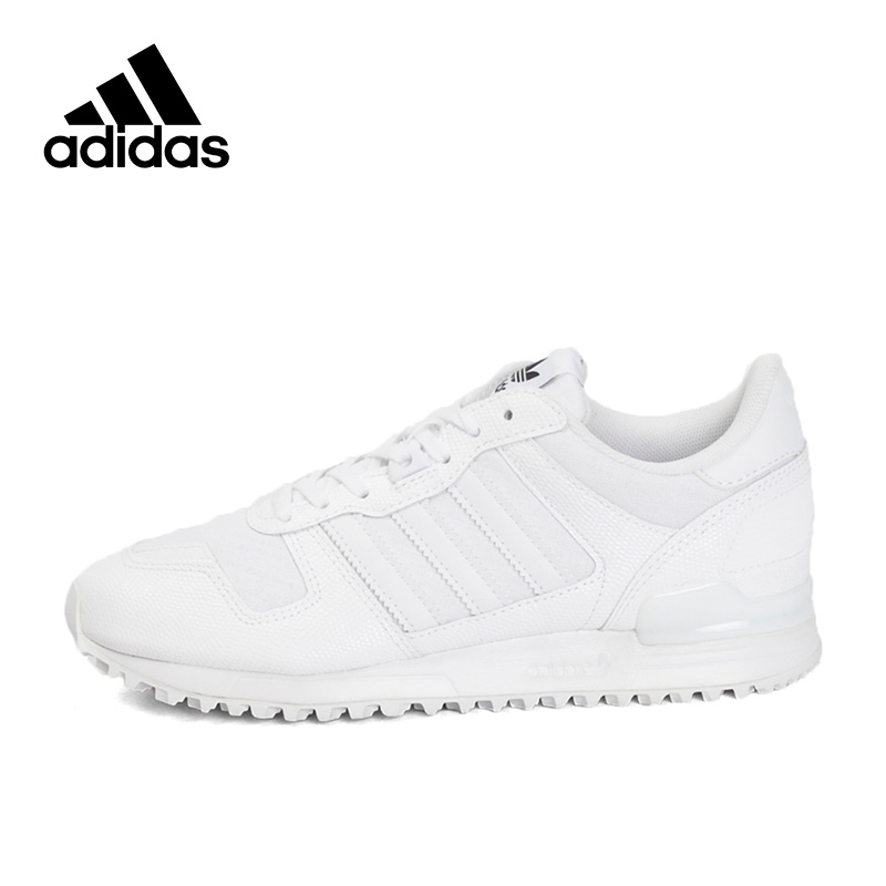 Authentic New Arrival Adidas Originals ZX 700 W Women's Skateboarding Shoes Sneakers Classique Comfortable