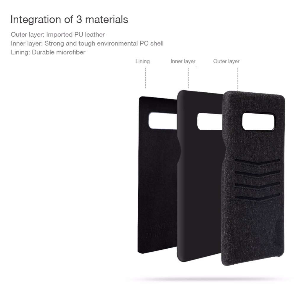 Restdeals.com:NILLKIN Luxury Classy Case For Samsung Galaxy Note 8 ...