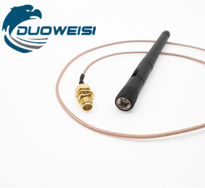 2.4G wifi module antenna SMA female extension cable advertising machine supporting universal external antenna IPEX