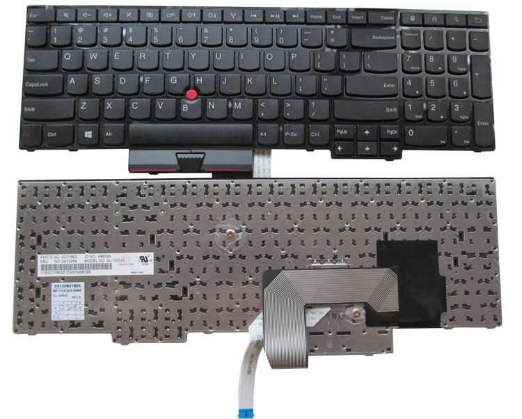 SSEA New laptop US Keyboard For Lenovo IBM ThinkPad Edge E530 E530C E535 E545 original laptop keyboard for ibm lenovo thinkpad t460p us keyboard 00ur395 free shipping