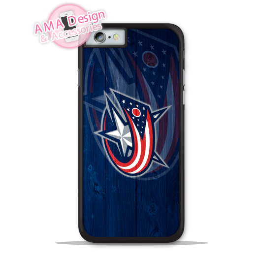 Columbus Blue Jackets Ice Hockey Fans Phone Cover Case For Apple iPhone X 8 7 6 6s Plus 5 5s SE 5c 4 4s For iPod Touch