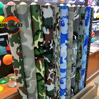 10 Kinds Digital Forest Desert Camo Vinyl Camouflage Foil For Full Car Body Decorative Adhesive Wrapping Film With Bubble Free