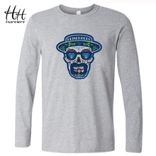 HanHent Breaking Bad Heisenberg T Shirt 2016 Autumn Casual Men Long Sleeve Cotton Tshirts Swag Funny