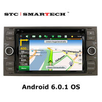 SMARTECH Car DVD Player GPS Navigation For Ford Mondeo Focus Transit C MAX 2 Din Android