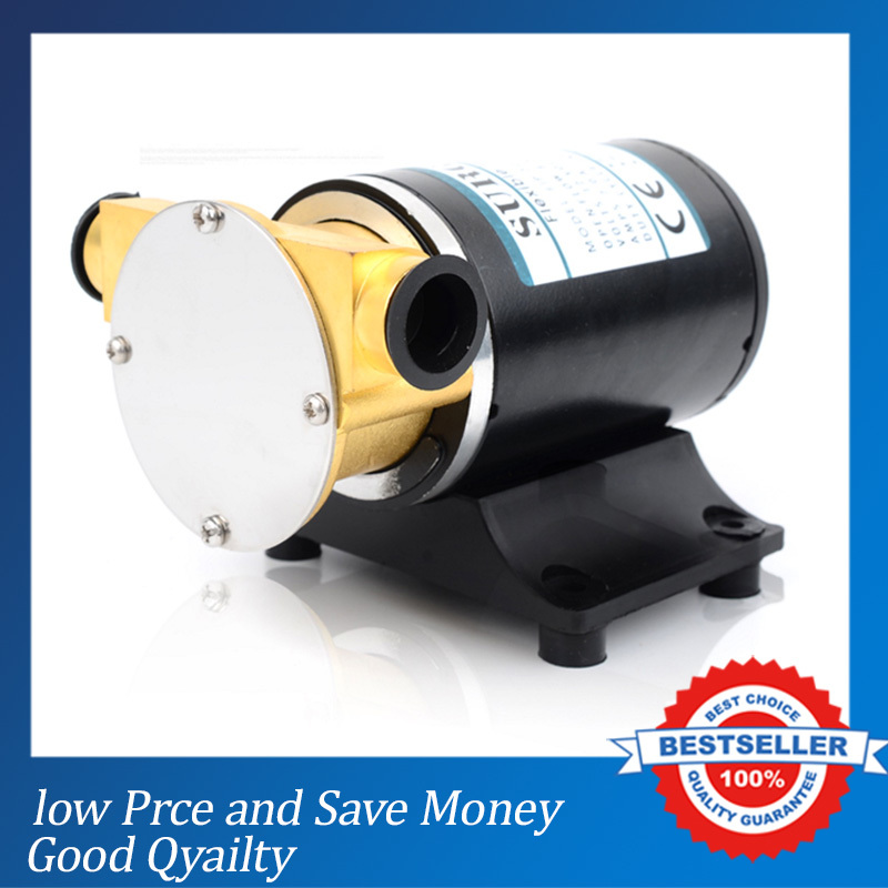 12V/24V Boat Bilge Pump Self Priming Water Pump 30L/min Flushing Washing Pump