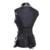 Nuevo 2015 Gothic Juego Entrenador Cintura Corsés Y Bustiers Corsé de Cuello Alto Negro Nueva Marca de ropa Más del tamaño Del Corsé Steampunk