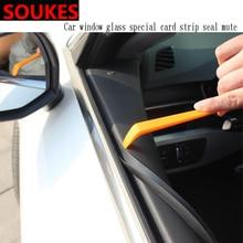 1M 1 Car Window Seam Gap Sealing Protection Strip For Peugeot 307 206 308 407 207 2008 3008 508 406 208 Mazda 3 6 CX-5 CX5 CX-7 цены
