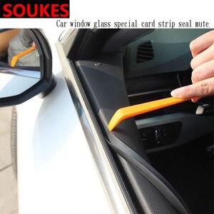 1M 1 coche ventana costura brecha de protección de la tira para Peugeot 307, 206, 308, 407, 207, 2008, 3008, 508, 406, 208 Mazda 3 6 CX-5 CX5 CX-7