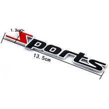 1pcs Car Styling Sport Stickers For SEAT Ibiza Leon Toledo Arosa Alhambra Exeo Supercopa Mii Altea Cordoba Accessories