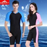 2016 Anti UV Wetsuit Men Short Sleeve Wet Suit Shorty Lycra Dive Skins Swimming Wetsuits Man