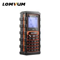 LOMVUM Digital Laser Distance Meter 40m 60m 80m 120m Laser Rangefinder Angle Measuring Keyboard Calculation Of