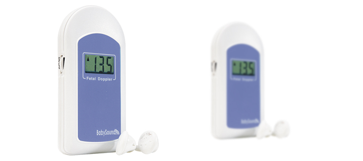 COTEC BABYSOUND B -LCD Display Prenatal Fetal Doppler, Baby Heart Beat Monitor+ Free Gel sonoline b 3mhz fetal heart rate monitor free gel high sensitivity ultrasonic probe baby heart beat testing