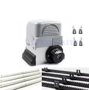 цена на 2000kg 750W 230V Automatic Sliding Gate Opener with 4 Remote Controllers 6m nylon racks 1 gate photocell