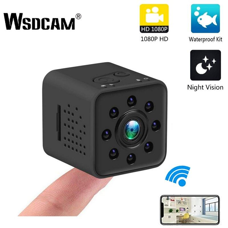 Upgrad גרסת SQ23 IP מצלמה HD WIFI קטן מיני מצלמה מצלמת 1080 P וידאו חיישן ראיית לילה למצלמות מיקרו מצלמות DVR תנועה