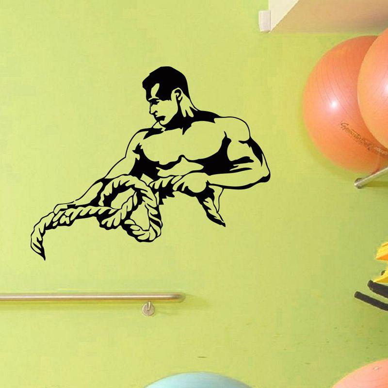пожарные картинки как разрисовать стены в спортзале так