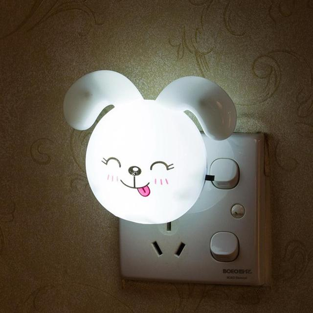 Cute Rabbit Shaped Led Light Lamp Bunny Night Lights For Kids Baby