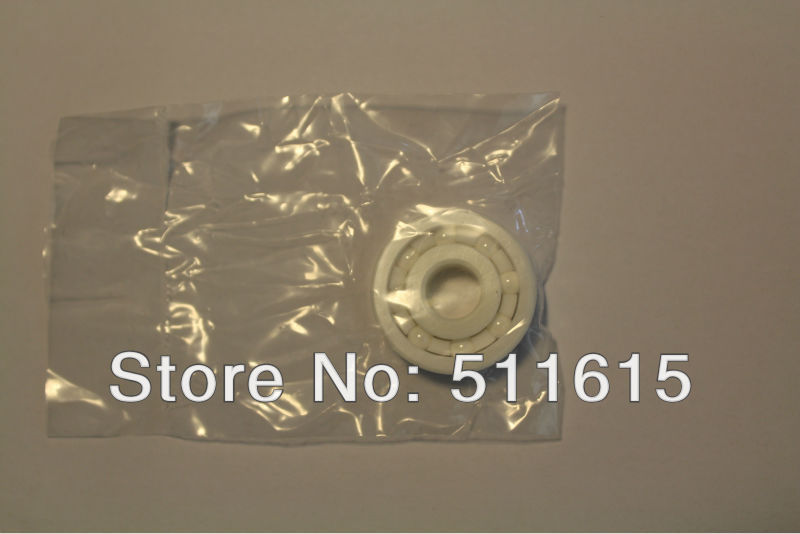 no logo Precision Deep Groove Ball Bearings 6204 6204CE Full Ceramic Bearing ZrO2 Material All Zirconia Ceramic Ball Bearings 204714 mm 1 PC