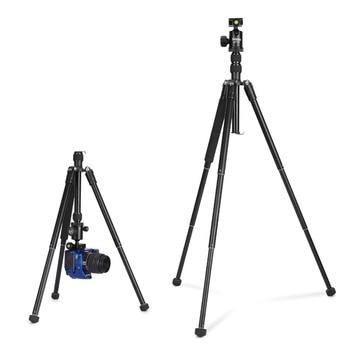 "150cm / 62"" 1.2kg Aluminum Professional Travel Camera Tripod Monopod Portable Flexible for DSLR Camera"