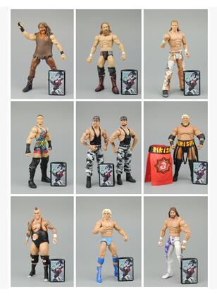18CM High Quality Classic Toy Super Movable Wrestling wrestler DA RVD HBK Fighter action figure Toys Variety optional