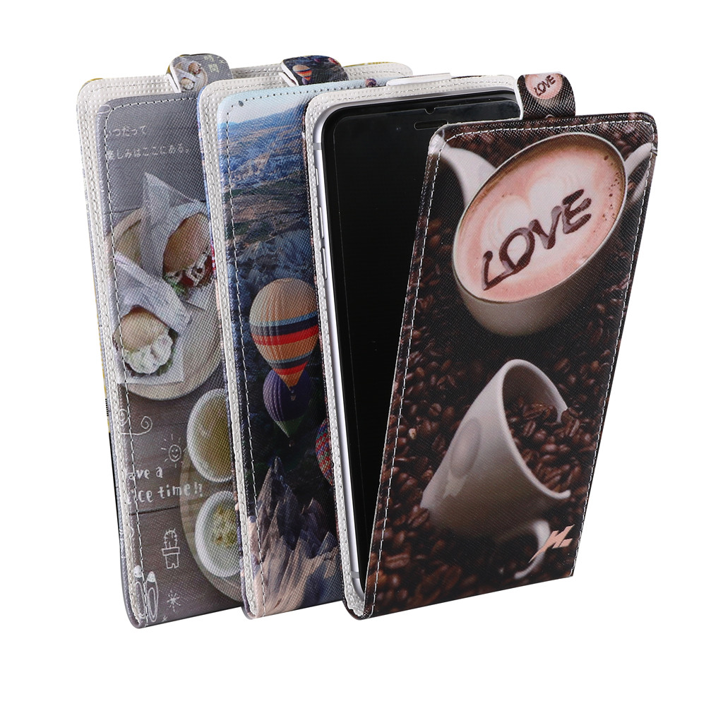 For Oukitel K6000 Case Luxury Brilliant Painting Bright Color Flip Leather Cover1 Mobile Phone Cases Free shipping