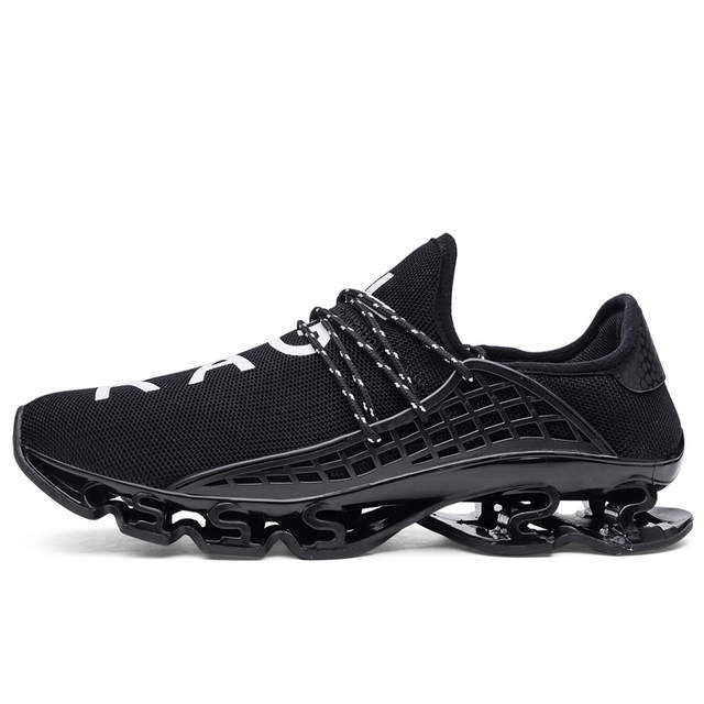 uk availability 9979e 0e392 Men Shoes Running Adult Sport Athletic Breathable Autumn Summer Trainers  Womens Human Race Springblade Sport Shoes Sneakers