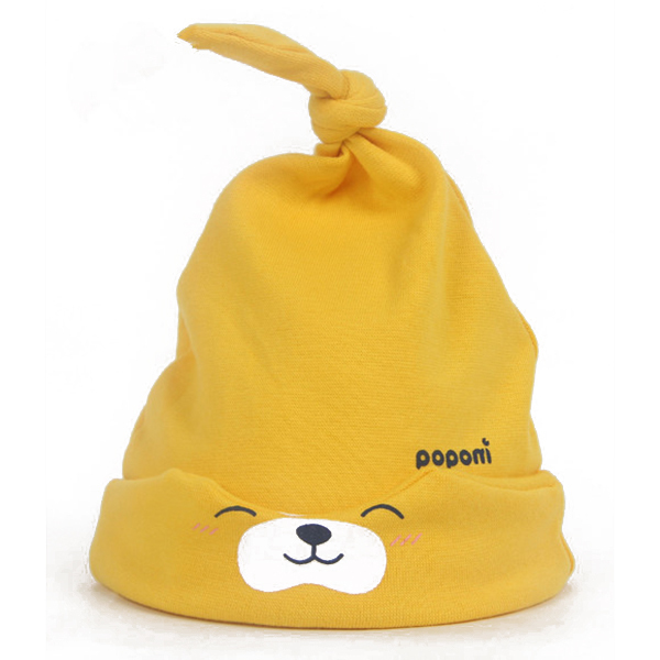 11 Colors Unisex Girl Boy Baby Cartoon Sleep Cap Toddlers Headwear Cotton Hat