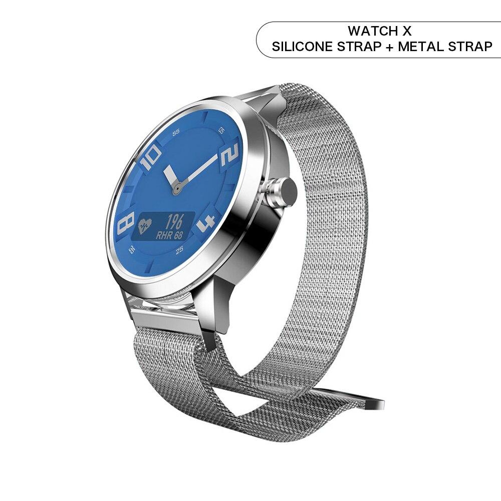 Lenovo Smart Watch Heart Rate Blood Pressure Watch Bluetooth 5.0 OLED Sapphire Mirror Sports Smartwatch Metal Men's Watchs