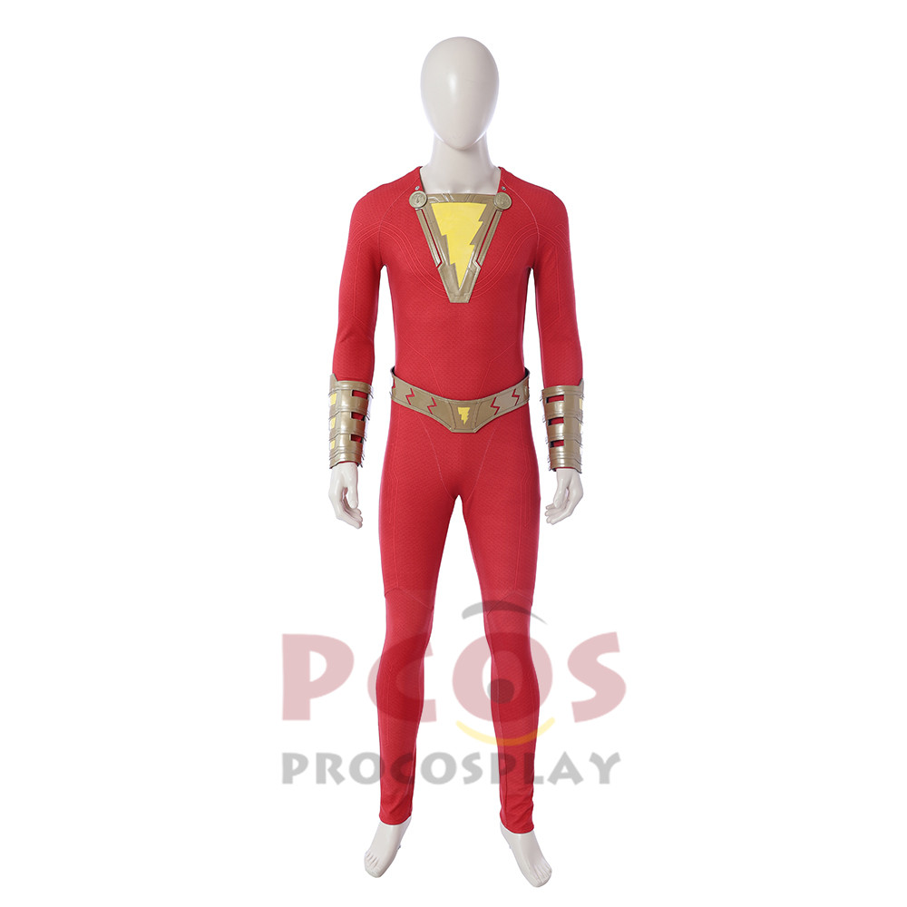 Justice Billy Batson Captain Marvel Cosplay costume Shazam ! Billy Cosplay Costume mp004130