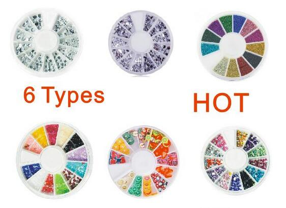 more Sizes types Nail Art White Pearl Rhinestone Decoration Wheel -in  Rhinestones   Decorations from Beauty   Health on Aliexpress.com  3fabba430a16