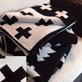 Kikikids мальчика и девочки дети остальные крест / кролик одеяла кондиционер одеяло, Детские кувертюр трикотажные одеяла и детская кровать в кровать одеяло