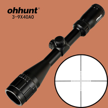 ohhunt 3-9X40 AO Hunting Optical Sights 1 Inch Tube Riflescope Mil Dot Wire Reticle Rifle S